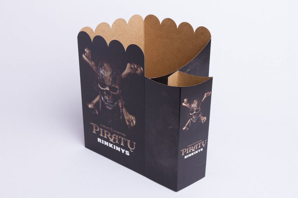 Forum Cinemas packaging by Vilpak
