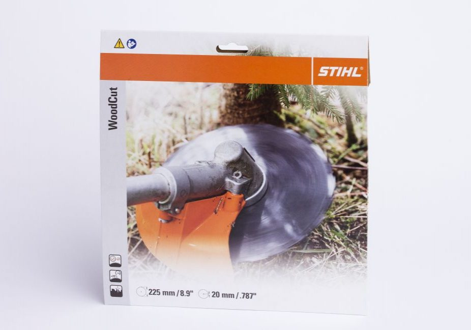 STIHL packaging from Vilpak